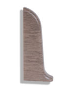Заглушка левая Лайн Пласт Матовый Дуб капучино L044