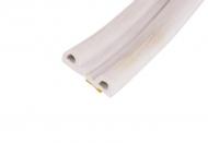 Уплотнитель P-профиль 5.5*9мм, 100м белый 1шт. - 1 метр.